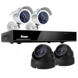 Эконом камеры видеонаблюдения (12)