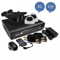 Комплекты видеонаблюдения (4)